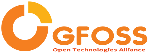 Greek Free / Open Source Software Society logo